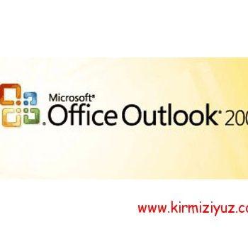 Microsoft Outlook 2007 E-Posta Kurulumu Resimli