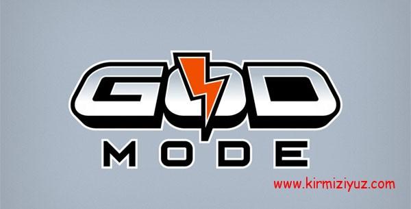 Windows 7'de 'God Mode'